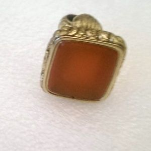 Antique Carnelian Signet Fob